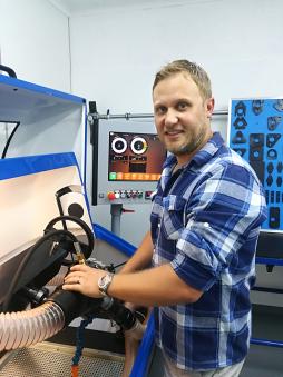 Turbocharger testing and calibration.